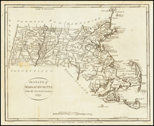 The State of Massachusetts from the best Authorities. 1799 By John Payne