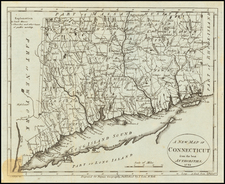 A New Map of Connecticut from the best Authorities.  1799 By John Payne
