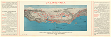 Pictorial Maps and California Map By Southern Pacific Company