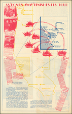 Oregon, Pictorial Maps and California Map By Fourth Air Force