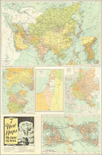 World, Russia and Holy Land Map By Geographia