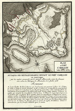 United States and Canada Map By Lieut Therbu