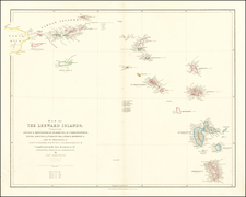 Virgin Islands and Other Islands Map By John Arrowsmith