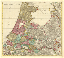 Netherlands Map By Peter Schenk