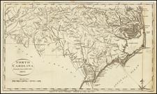 North Carolina Map By John Payne