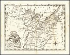 United States Map By Johann David Schopf