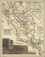 California Map By Elizabeth B. Sadler