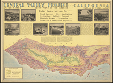 Pictorial Maps and California Map By Hoen & Co.