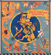 Philippines Map By Ruth Taylor White