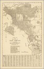 San Diego Map By Rodney Stokes