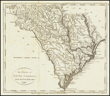 The State of South Carolina from the best Authorities. 1799 By John Payne