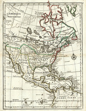 North America Map By Le Rouge