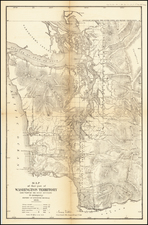 Washington Map By U.S. General Land Office