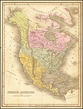 North America Map By Anthony Finley