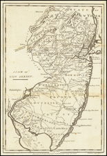 New Jersey Map By John Payne