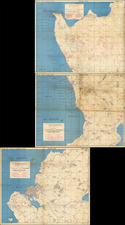 Japan and World War II Map By U.S. Navy Photographic Interpretation Squadron Two (Interpron Two)