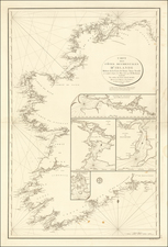 Ireland Map By Depot de la Marine
