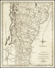 Vermont from the latest authorities 1799 By John Payne