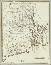 Rhode Island Map By John Payne