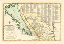 Cette Carte De Californie et Du Nouveau Mexique... 1705 [California as an Island] By Nicolas de Fer