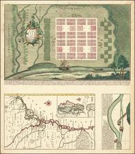 Southeast and Georgia Map By Matthaus Seutter