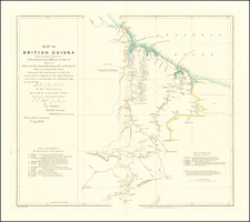 Guianas & Suriname Map By John Arrowsmith