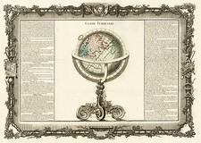 World, Eastern Hemisphere and Curiosities Map By Buy de Mornas