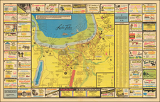 Pictorial Maps and California Map By Bob Shedd