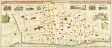 London Map By George Vertue