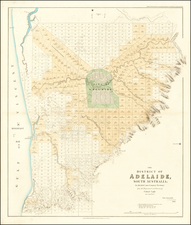 Australia Map By John Arrowsmith