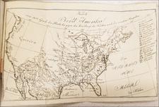 United States and Washington, D.C. Map By Eberhard August Wilhelm von Zimmermann