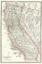 California Map By People's Publishing Co.