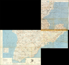 Japan, Other Pacific Islands and World War II Map By U.S. Army Map Service