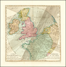 Europe, British Isles and England Map By Laurie & Whittle