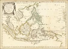 Les Isles Philippines Molucques et de la Sonde . . . 1654 [Includes Taiwan & Singpore] By Nicolas Sanson