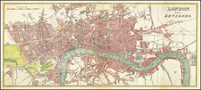 London Map By Anonymous