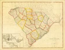 South Carolina Map By John Wilson