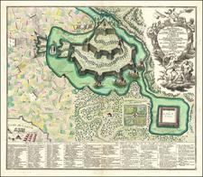 Curiosities Map By Matthaus Seutter