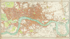 London Map By Sherwood, Neely & Jones