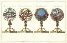 World, World, Curiosities and Celestial Maps Map By Jean Janvier