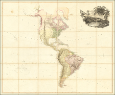 Map of America By A. Arrowsmith.  1804 By Aaron Arrowsmith