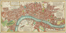 London Map By Robert Withy