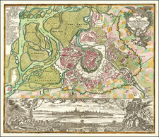 Austria Map By Matthaus Seutter