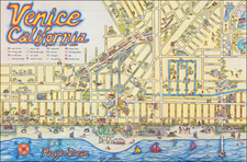 Venice California 75 years - 1905 - 1980 By C. June Barton / R. Greenway Frager