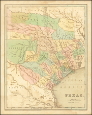 Texas  [Republic of Texas] By Thomas Gamaliel Bradford