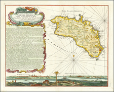 Spain and Balearic Islands Map By Homann Heirs