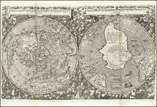 World Map By Cornelis de Jode