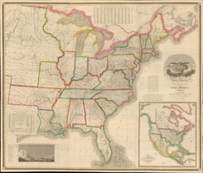 United States Map By Anthony Finley / David Vance