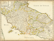 Northern Italy Map By Nicolas Sanson