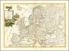 Europe Map By Antonio Zatta